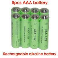 SORAVESS 2-8 PCS 1,5 V 2000mAh Akku AAA Alkaline 10440 Batterien Für Uhr Spielzeug Taschenlampe Remote control Kamera