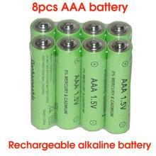 SORAVESS 8 шт. 1,5 в 2000 мАч перезаряжаемые батарея щелочных AAA 10440 батареи для часы игрушечный фонарик дистанционное управление камера