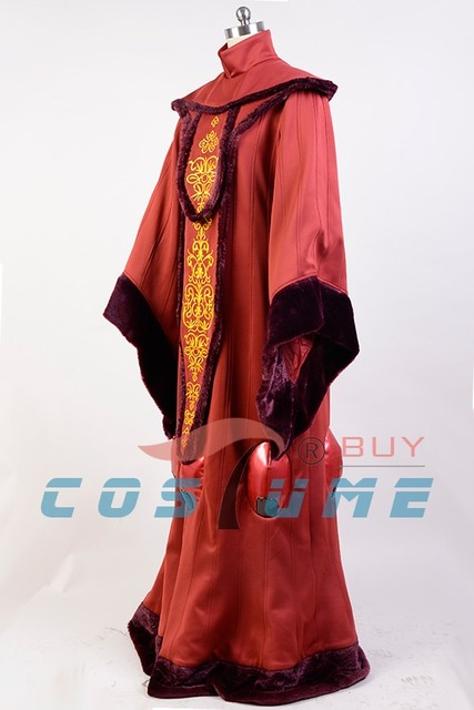 Star Wars Costume Star Wars Phantom Menace Queen Padme Amidala COSplay Costume Outfit Adult Halloween Costume Customized 3