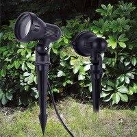 Lámpara de jardín para césped IP65 GU10, 5W, 7W, SMD, AC110V, 220V, resistente al agua, blanco cálido, 5W