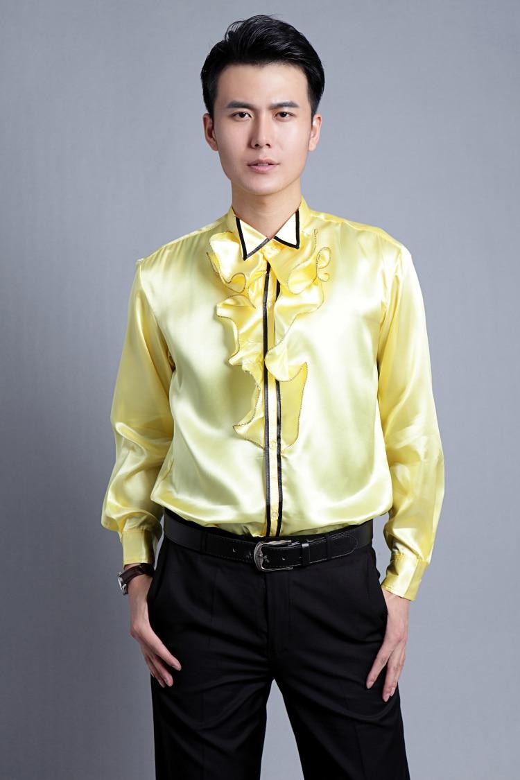 S 3XLfree shipping camisa masculina2015New mens dress shirt tie ...