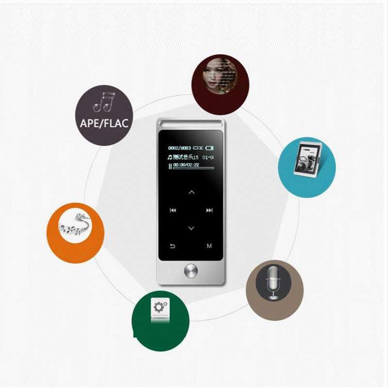新オリジナルタッチスクリーン MP3 プレーヤー 8 ギガバイト BENJIE S5 金属高音質ロスレス MP3 音楽プレーヤー FM ラジオプレーヤーミニ MP3