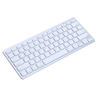Slim Thin Wireless Bluetooth Keyboard For IMac IPad Power Saving Android Phone Tablet PC UK 78keys
