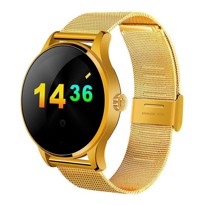 Montre Smart Watch K88H Piste Bracelet Moniteur de Pression Artérielle pour Hommes Femmes IP68 Étanche de Fréquence Cardiaque Pour Téléphone Android Xiaomi