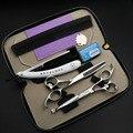 Черный Рыцарь 6 дюймов Профессиональные ножницы парикмахерские набор Парикмахерская ножницы для безопасности Детей использовать