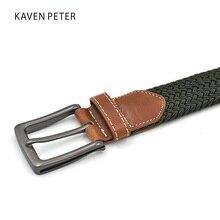Green Longer Elastic Belts For Men