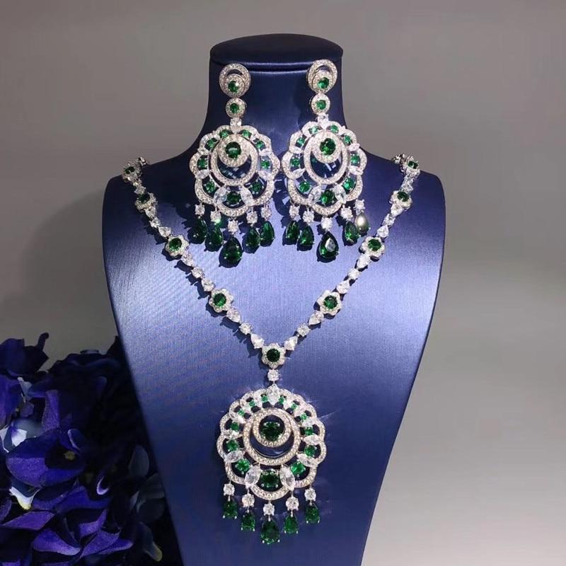 Designer Fashion Koperen Sieraden 3A Zirconia Party Set-in Sieradensets van Sieraden & accessoires op  Groep 1