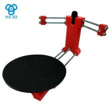 HE3D laser 3d scanner DIY kit, Reprap 3d Open source Portable 3d scanner for 3d printer