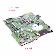 NOKOTION 846803-601 Laptop motherboard For HP Pavilion 15-F A8-7410 CPU DAU99VMB6A0 846803-001 Main board TESTED