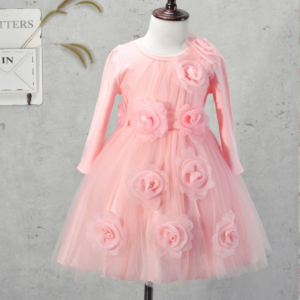 Cheap Baby Girls Dresses Kids Clothes Children Dress for