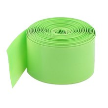10M 29.5mm PVC Heat Shrink Tubing Wrap for 1 x 18650 Battery Light Green