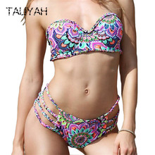 Brazilian bikini set folk-custom bikinis womens swimwear tube top swimsuits halter sexy push up girls beach wear 2019