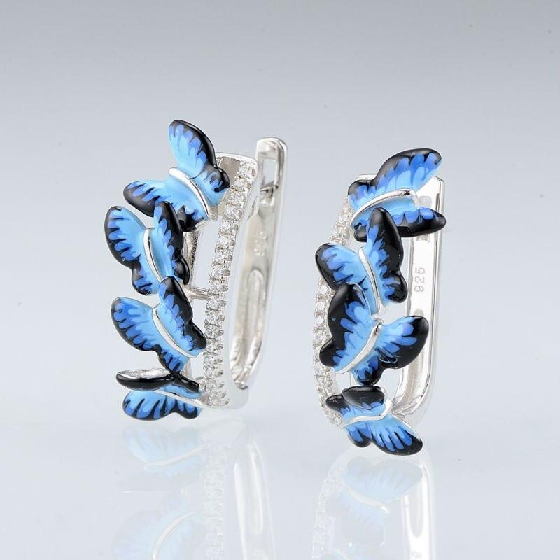 E308015ENASL925-Silver Earrings-SV2