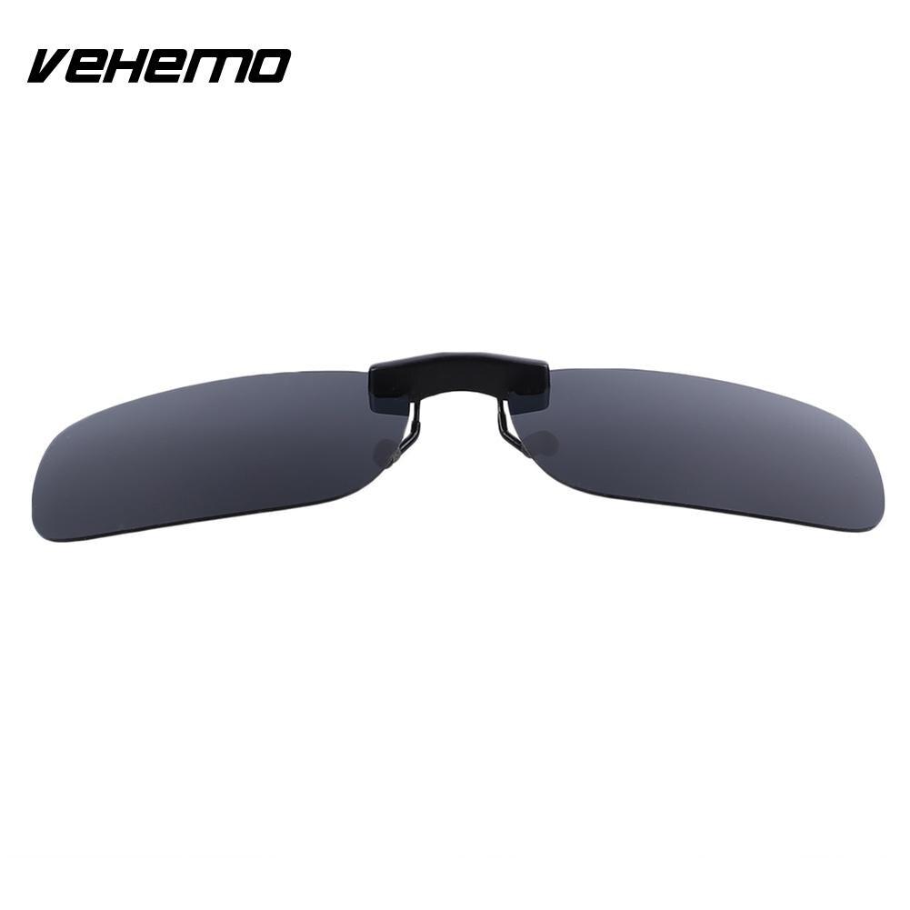 Vehemo замена Поляризованные линзы флип для солнцезащитных очков UV400 Солнцезащитные очки вождения - Цвет: Polarizing grey