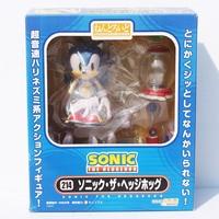 Cute Funny Blue Sonic The Hedgehog Cute Vivid Nendoroid Series 4 PVC Figure Toy