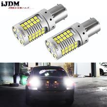 IJDM без ошибок супер яркие 15 Вт 35-SMD 1156 P21W 7506 светодиодный Сменные лампы для евроламп, 12 В Ксеноновые белые
