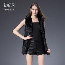 Жилет из натурального кроличьего меха, пальто, куртка для женщин,, Модный зимний весенний жилет из натурального меха, верхняя одежда, пальто высокого качества