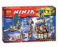 Bela 10401 Ninjagoed Ciudad de Stiix Maestros Spinjitzu Building Blocks  Ladrillos Ninos Juguetes Compatible 70732
