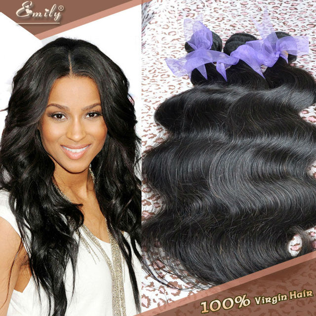 6a Emily Hair Weaving Brazilian Virgin Hair Body Wave Hair Weave