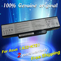 Shippingoriginal grátis para a bateria do laptop asus k72y k73 k73e k73j K73JK K73S K73SV N71 N71J N71JA N71JQ N71JV N71V N71VG N71VN
