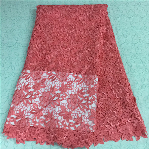 Free shipping! New designs high quality african cord lace latest nigerian and french lace fabric for dreses WKS8-82