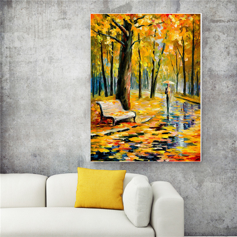 Wholesale Park In Late Autumn Posters And Prints Canvas