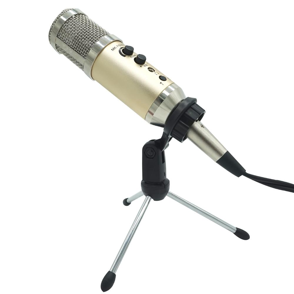все цены на TGETH MK-F500TL Professional USB Studio Condenser Microphone Wired Recording For Computer kalaok Mikrofon Microfone PK MK-F200FL онлайн
