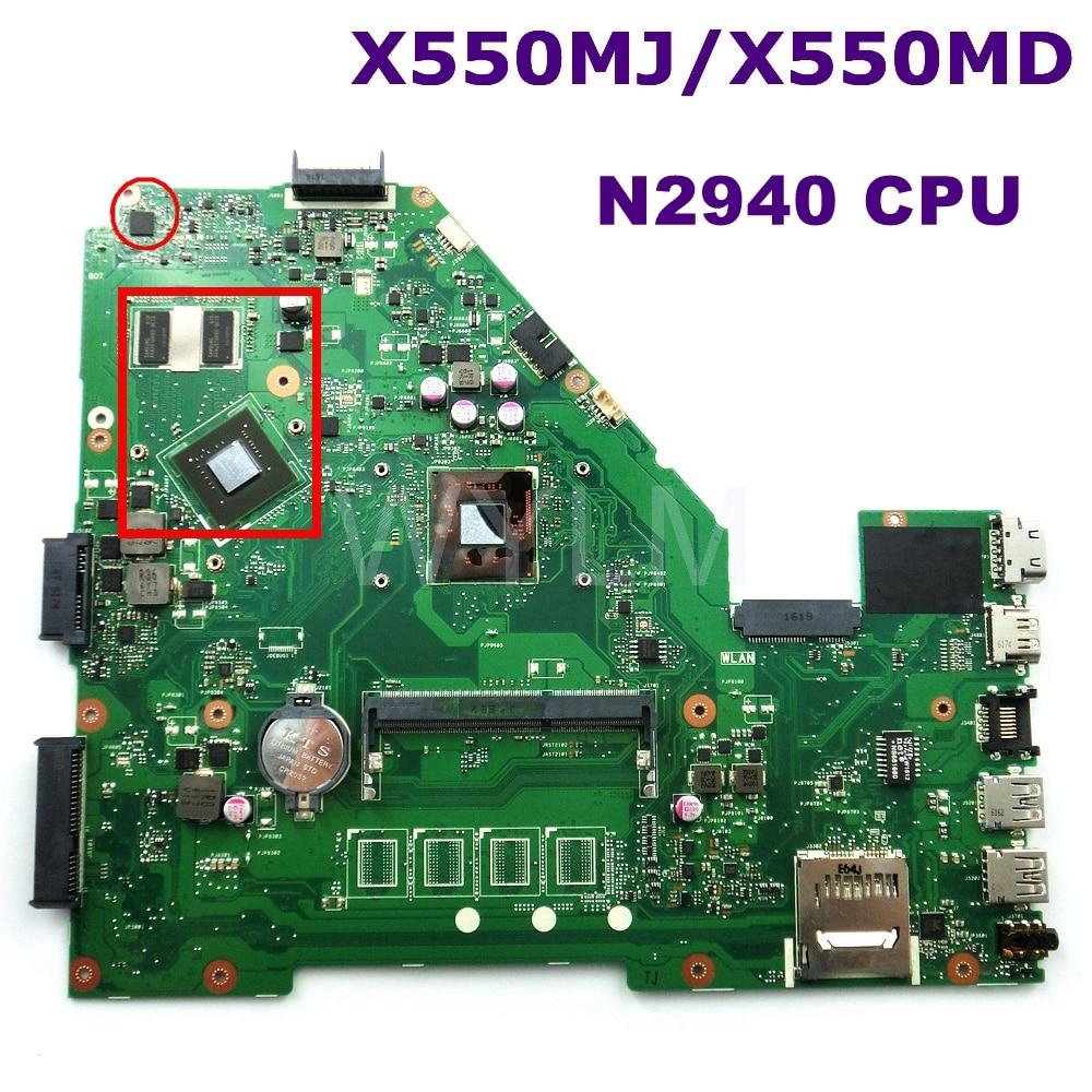 все цены на X550MJ MAIN_BD._0M/N2940/AS V1G 90NB0830-R00040 Mainboard REV 2.0 For ASUS X550MD X550MJ X552M Y582M K550M laptop motherboard