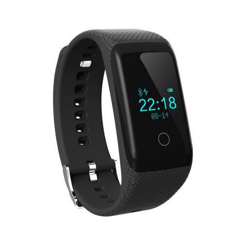 2016 v16 smart watch impermeable bluetooth 4.0 inteligente pulsera de fitness sports tracker con monitor de ritmo cardíaco continuo
