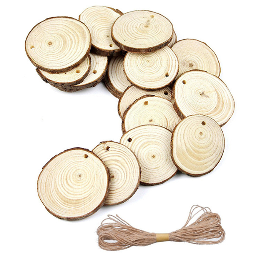 1pcs/lot Vintage Natural Wooden Clip With Rope Decorative Message Wood Board DIY Display Price Board Party Supplies