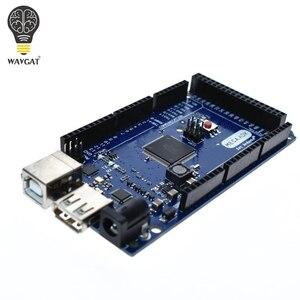 Image 4 - Wavgatメガ 2560 R3 16AUボード 2012 googleオープンadkメインボード (互換mega 2560 ATmega2560 16AU + usbケーブル