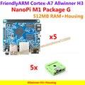 Allwinner H3 Quad-core Cortex-A7@1.2GHz Mini PC NanoPi M1(512M)+Housing=NanoPi M1 Package G(Run u-boot,Ubuntu-MATE,Debian)