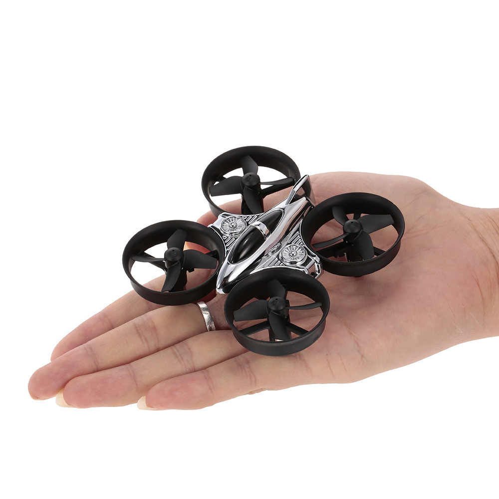 XK Q808 Drone 2.4G 6-Assige Gyro Mini Ducted Drone Hoogte Hold Flip Headless Modus RC Quadcopter voor beginner RTF RC Speelgoed