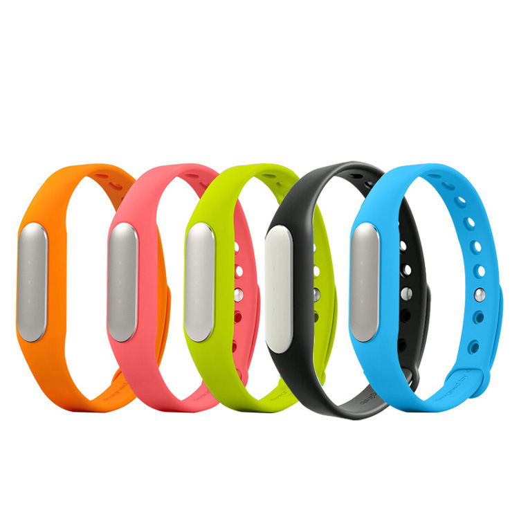 2015 New Original xiaomi mi band miband smartband xiaomi bracelet Sleep Monitoring IP67 waterproof 30 Days Standby Bluetooth