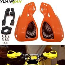 цена на 1 Pair Motorcycles Motocross Brush Bar Hand Guards Handguard For Honda Yamaha Suzuki KTM kawasaki ATV Dirt Bikes