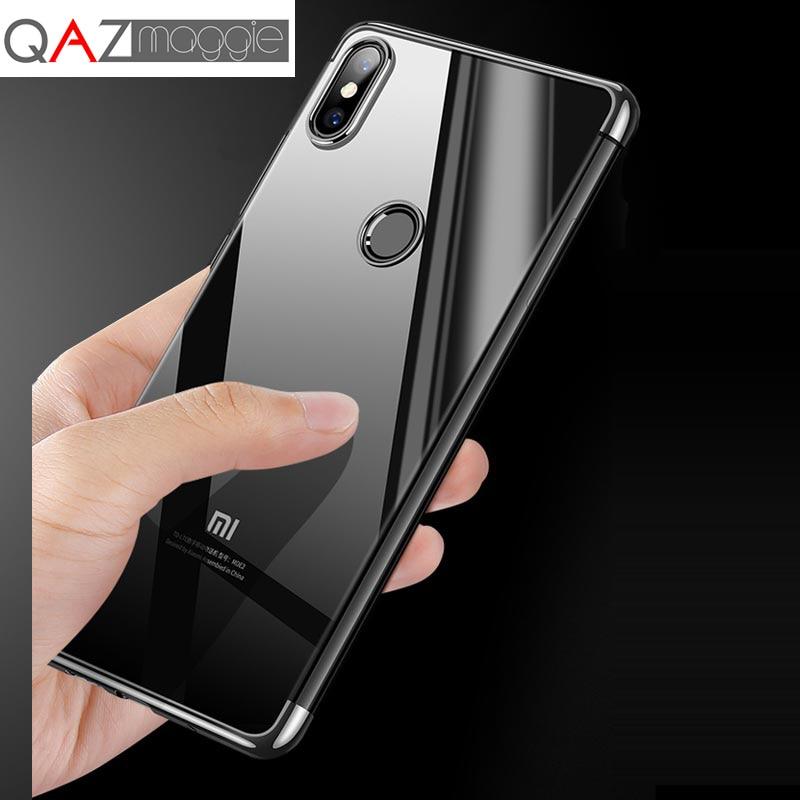 Xiaomi Mi 8 SE Case Xiaomi Mi8 Lite Cover Flexible Colorful Plating TPU Transparent Case for Xiaomi Mi 8 Explorer