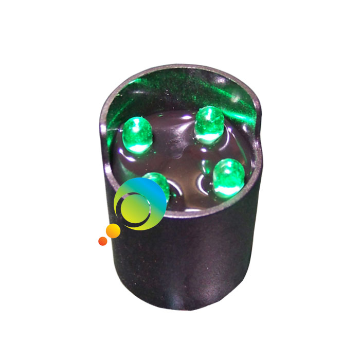 Green LED 26MM Traffic Guide Indicator Parts LED Pixel Cluster Traffic Signal Light