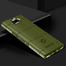 Soft Army Armor Case For Sony Xperia XA3 Ultra Cases Silicone Shield Protective Covers Coque for Bumper Funda