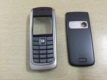 Новый мобильный телефон крышка корпуса case + английский клавиатура для nokia 6020 передний корпус + крышка батарейного отсека + клавиатура
