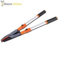 1Piece Telescopic Loppers Pruning Shears Garden Tools Secateurs Aluminium Alloy Long Handle Gardening Scissors Cutting Tools