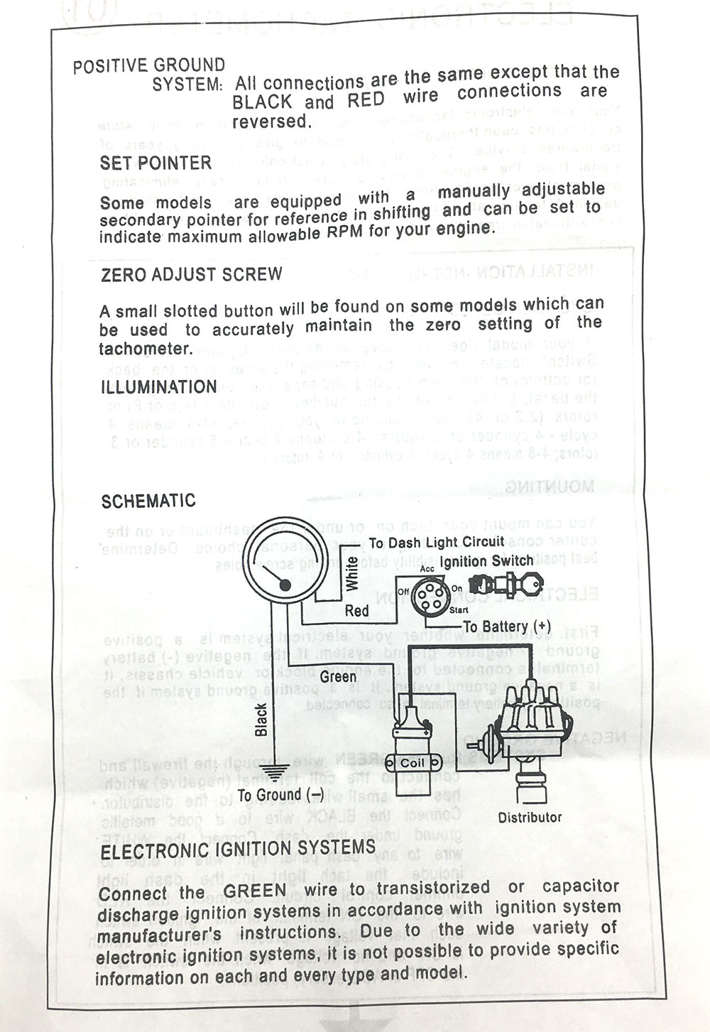 Stewart Warner Fuel Gauge Wiring Diagram Trusted Diagrams Dragon Tach U2022 531 Tachometer