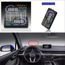 Car HUD Head Up DisplaFor Audi A3 2014 2015 2016 2017 2018 2019 2020 - Safe Driving Screen Projector Refkecting Windshield
