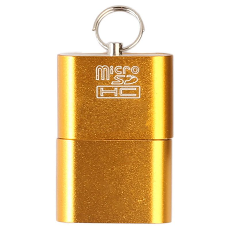 Aluminum USB 3.0 Portable Memory Card Reader Adapter for Micro-SD Card / TF Card Reader Adapter usb 3 0 portable memory card reader adapter for micro sd card tf card reader adapter usb 3 0 card reader otg usb sd
