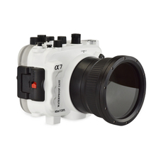 for Sony A7 with Accurate Alarm Buzzer Equipment Seafrogs 40m/130ft Underwater Waterproof Housing Diving Case