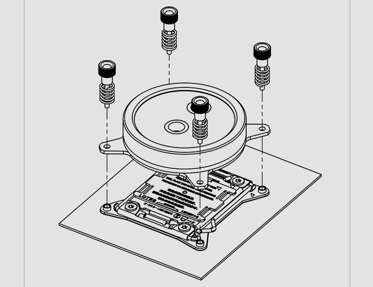 Купить с кэшбэком Barrow CPU Water Block use for INTEL LGA 2011 2066 X99 X299 Acrylic + Copper Radiator RGB 5V GND to 3PIN Hearder in Motherboard