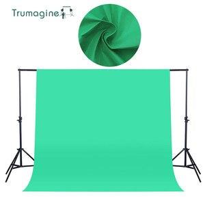 Image 1 - 1,6X2 M/5.2X6.5ft Schießen Grün Bildschirm Foto Hintergrund Kulissen Non woven Stoff Fotografie Studio Chromakey Fotografia Tuch