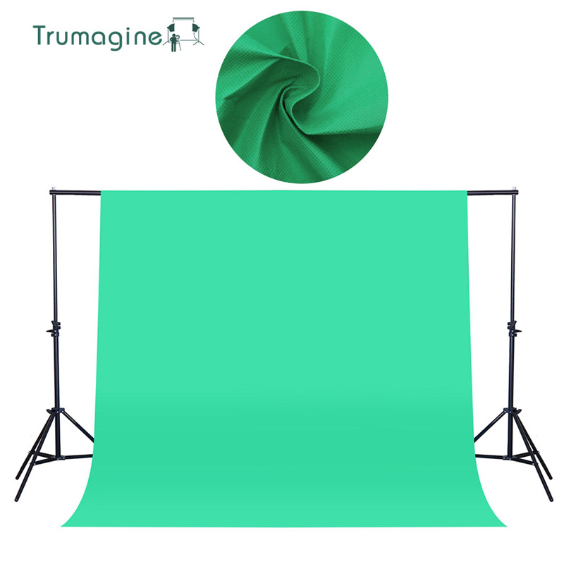 1.6X2M/5.2X6.5ft Shooting Green Screen Photo Background Backdrops Non woven Fabric Photography Studio Chromakey Fotografia Cloth