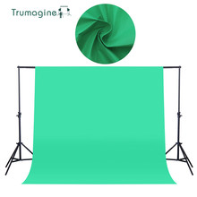1.6X2M/5.2X6.5ft Shooting Green Screen Photo Background Backdrops Non woven Fabric Photography Studio Chromakey Fotografia Cloth цены онлайн