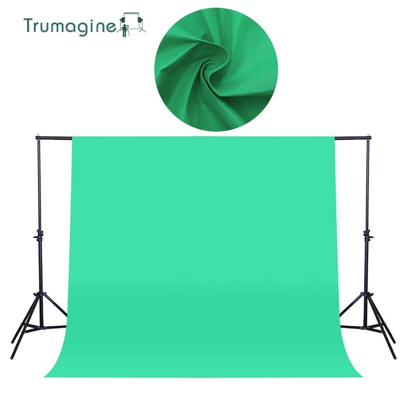 1.6x2 m/5.2x6.5ft Tiro pantalla verde foto Fondos fondos no tejido Telas fotografía estudio chromakey fotografia tela