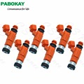 6 PIECES For Nikki Flow Matched Fuel Injector for Dodge-Mitsubishi 1.82.03.0 INP-771 0280155723 842-12223 CDH210 CDH-210 INP771